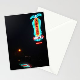 Neon Lights Stationery Cards
