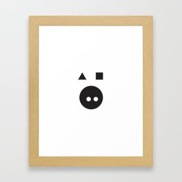 ABSTRACT_01 Framed Art Print
