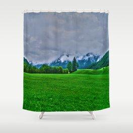 Schwendt in tyrol Shower Curtain