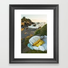 Ilfracombe Fish n Chips Framed Art Print