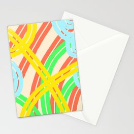 Flowers carnival Stationery Cards