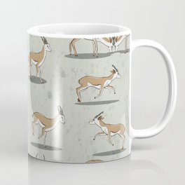 Poster Background | Springbok Pattern Coffee Mug