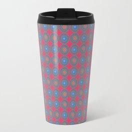 Spinners Pattern Travel Mug