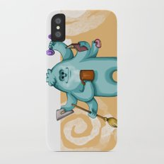 Multitasking Monster iPhone X Slim Case