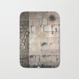 Jerusalem - The Western Wall - Kotel #3 Bath Mat
