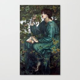 Dante Gabriel Rossetti - The Day Dream Canvas Print