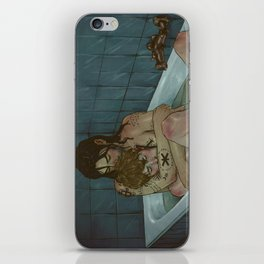 Tending the wounds iPhone Skin