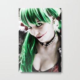 Tara Harley Quinn Metal Print