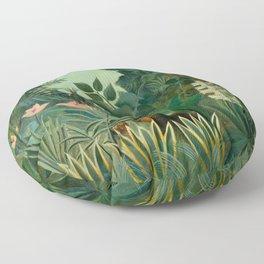 """Henri Rousseau """"The Equatorial Jungle"""" Floor Pillow"""