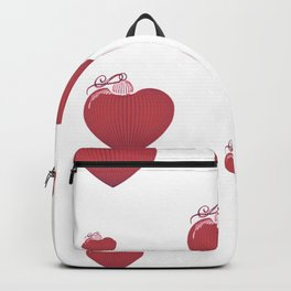 Collection of hearts Backpack