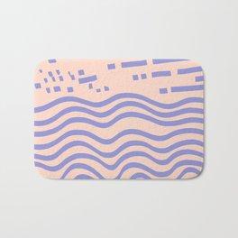 the abstract beach Bath Mat