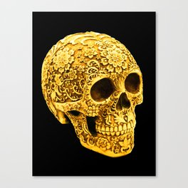 For the Love of Gold Canvas Print