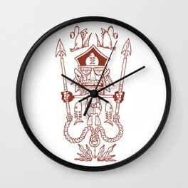 Captain Seabutcher Wall Clock