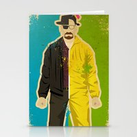 heisenberg Stationery Cards featuring Heisenberg by Danny Haas