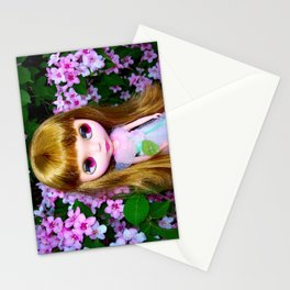 FLORAL BLYTHE II Stationery Cards