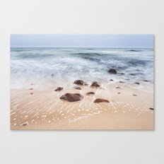By the Shore Canvas Print