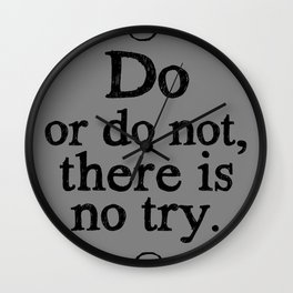 There is no Try Wall Clock