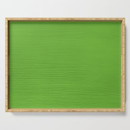 Apple green painted wood grain Serving Tray