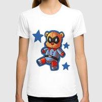 bucky T-shirts featuring bucky!bear by zombietonbo