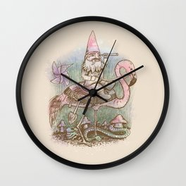 Journey Through The Garden Wall Clock