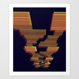 Wu Wei Art Print