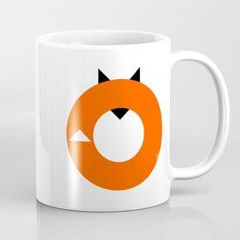 A Most Minimalist Fox Coffee Mug