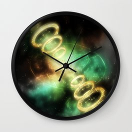 The Girl Lost In Time Wall Clock