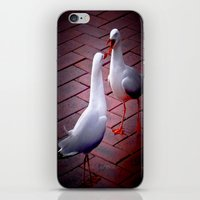 gossip girl iPhone & iPod Skins featuring Gossip by Lydia Cheval