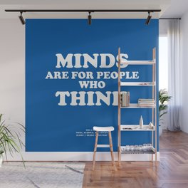 Howlin' Mad Murdock's 'Minds Are for People...' shirt Wall Mural