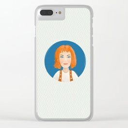 Leeloo Clear iPhone Case