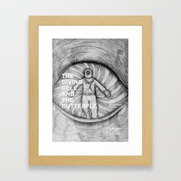 The Diving Bell and The Butterfly Framed Art Print