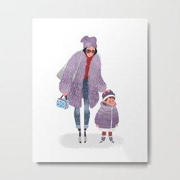 Eva Chen Metal Print