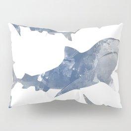 The World is Full of Sharks Pillow Sham