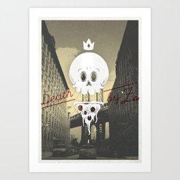 Death by 'Za Art Print