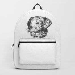 Sketch of Dog also known as mans best friend Doggo Backpack