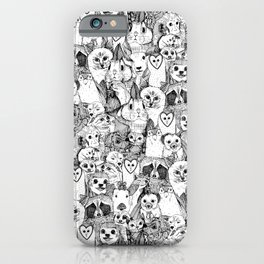 love and hugs iPhone Case