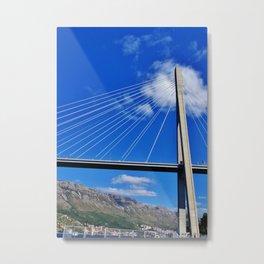 Bridge in Dubrovnik Metal Print