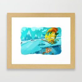 Sweet Seasons - Winter Framed Art Print