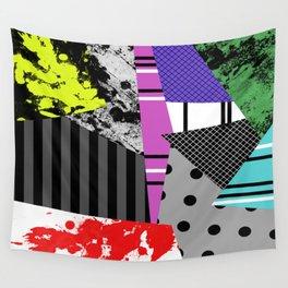 Pick A pattern II - geometric, textured, colourful, splatter, stripes, marble, polka dot, grid Wall Tapestry