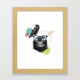 HipSkull Framed Art Print