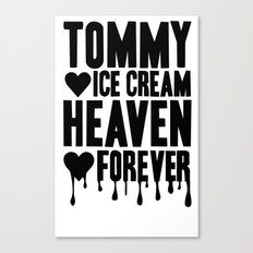 TOMMY ICE CREAM HEAVEN FOREVER Canvas Print