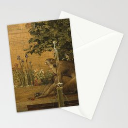 Beauty and the Beast, 1904 by John D Batten & Joseph E Southall - Reproduced from original under CC0 Stationery Cards