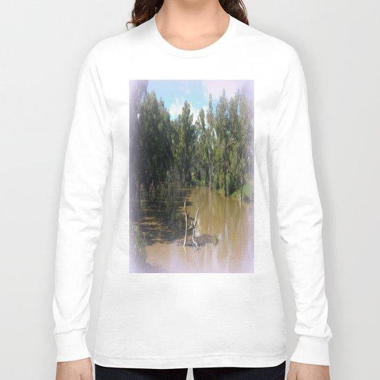 Dead trees Scuplture Long Sleeve T-shirt