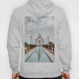 Taj Mahal in India Hoody