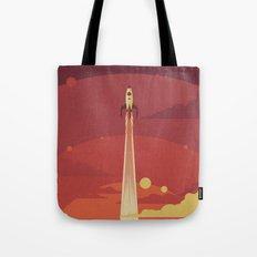 Atomic Sky Tote Bag