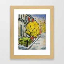 7th and Union, Brooklyn, Fall Framed Art Print