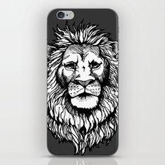 Lion (on dark) iPhone & iPod Skin