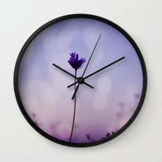 Party of One Wall Clock