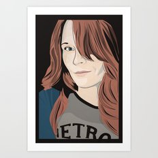 The target of my adoration Art Print
