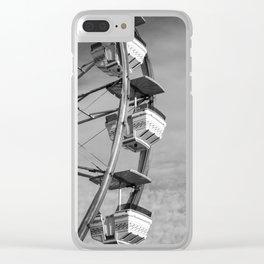 Upward Bound Clear iPhone Case